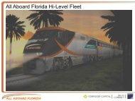 All Aboard Florida Hi-Level Fleet