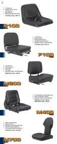 ULTRA SERIES SEATS - Ultra Seat - Page 2