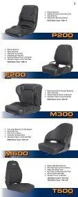 ULTRA SERIES SEATS - Ultra Seat - Page 3