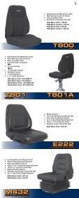 ULTRA SERIES SEATS - Ultra Seat - Page 5