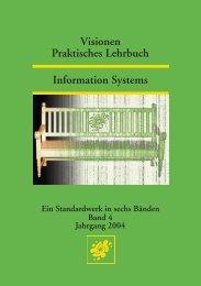Praktisches Lehrbuch Visionen Information Systems - Vis - ETH Zürich