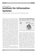 Praktisches Lehrbuch Visionen Information Systems - Vis - ETH Zürich - Seite 6