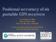 Positional Accuracy Of Six Portable GPS Receivers - Active Living ...