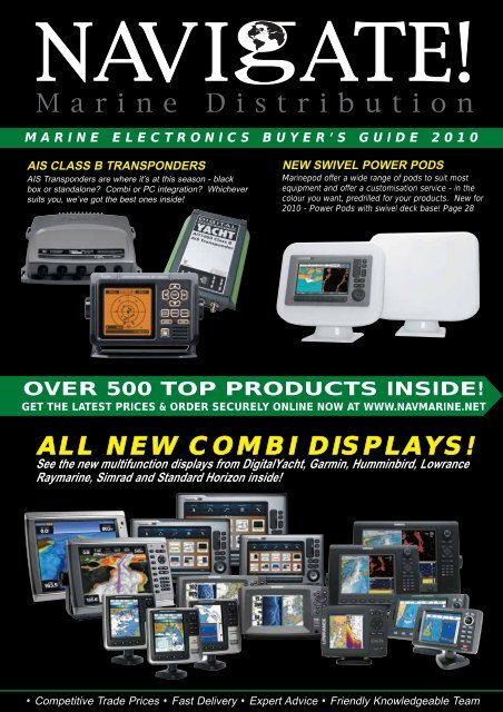 ALL NEW COMBI DISPLAYS! - the new Navigate Trade website