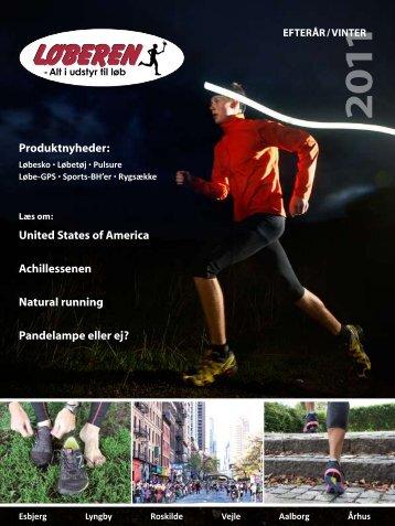 United States of America Achillessenen natural running ... - Løberen