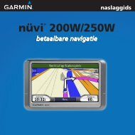 nüvi® 200W/250W - Garmin