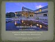 hobbs state park trail mapping p - Faculty Web Pages - Northwest ...
