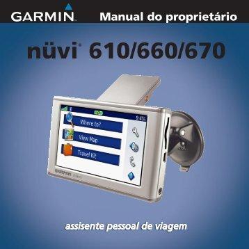 nüvi® 610/660/670 - Garmin