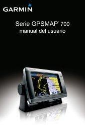 Serie GPSMAP® 700 - Garmin