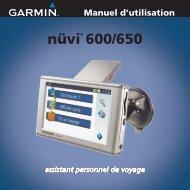 nüvi® 600/650 - Garmin