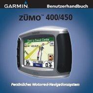 ZUMO™ 400/450 - Garmin