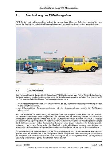 Flexibler Oberbau - Infralab SA