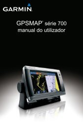 GPSMAP® série 700 manual do utilizador - Garmin