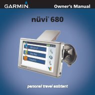 nüvi® 680 - Garmin