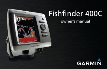 Fishfinder 400C Owner's Manual - Garmin