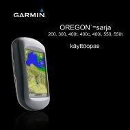 OREGON™-sarja - Garmin