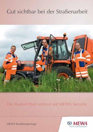 Der Bauhof Hart vertraut auf die Warnschutzkleidung - MEWA