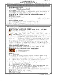 Seite: 1/7 Sicherheitsdatenblatt gemäß 1907/2006 ... - meyer-chemie