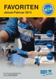 Januar/Februar 2013 - EUROPART - europart.de