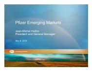 Pfizer Emerging Markets