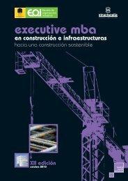 executive mba en construcción e infraestructuras - Construible