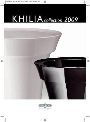 KHILIAcollection 2009 - Euro 3 Plast