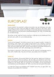 EURO3PLAST - Van der Gucht pottery & bamboo