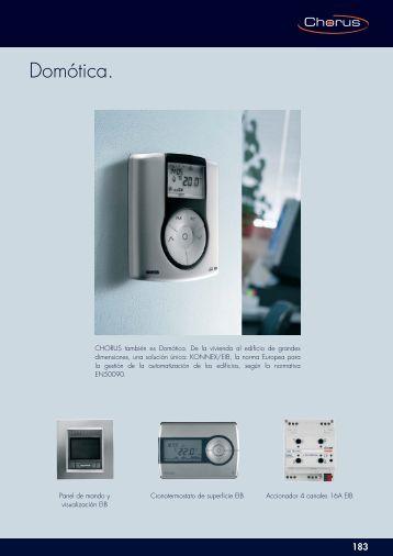 v deoportero gewiss chorus. Black Bedroom Furniture Sets. Home Design Ideas