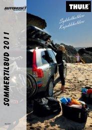 Sommertilbud 2011 - Autohuset Fagernes