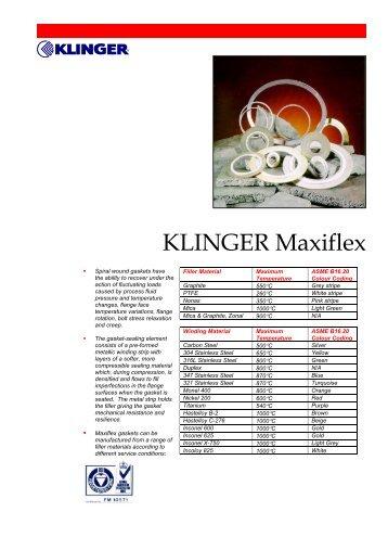 KLINGER Maxiflex - Chryssafidis