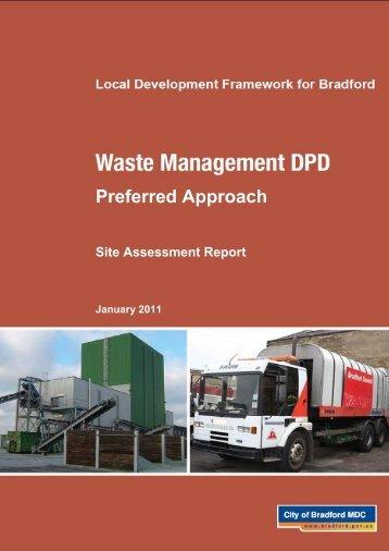 Site Assessment Report - Bradford Metropolitan District Council