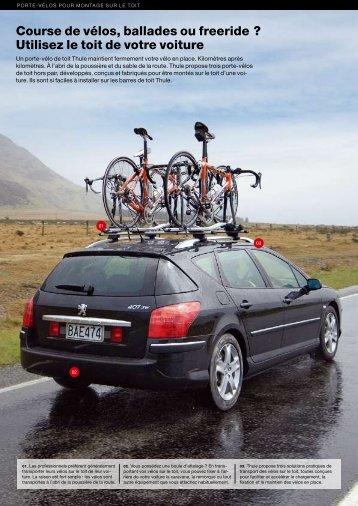 Utilisez le toit de votre voiture - Aux meilleurs prix
