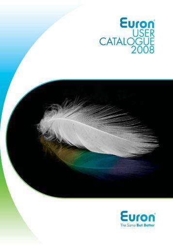 ONT1500 -Euron Product Catalogue 2008 (UV)-V2 ... - EuronUK.com