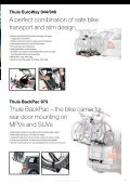 Towbar and rear door mounted bike carriers Thule EuroClassic G5 ... - Page 2