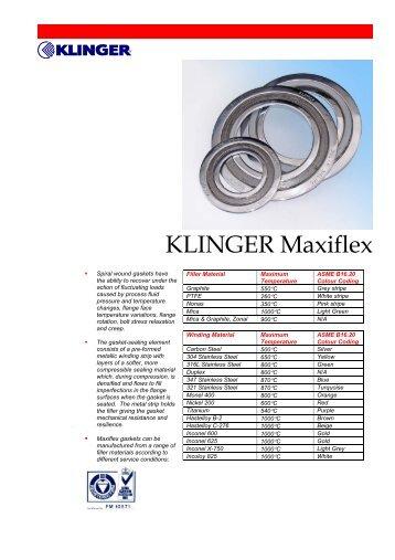KLINGER Maxiflex - SAIDI