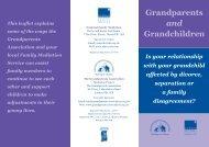 National Family Mediation Grandparents Leaflet - Separated ...