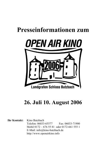download - Butzbach: Capitol Kino