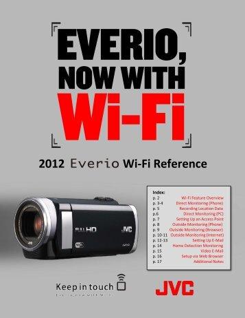 2012 Wi-Fi Reference - JVC