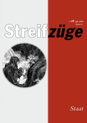 N°49 Juli 2010 Euro 6,- - Streifzüge