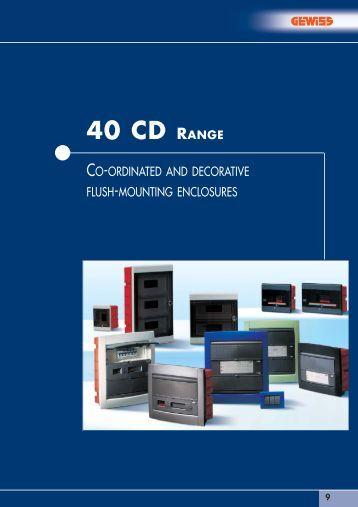 40 CD RANGE - Simon Electric