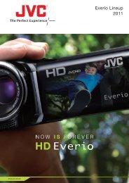 Everio Lineup 2011 - JVC