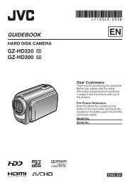 GUIDEBOOK GZ-HD320 GZ-HD300 - JVC