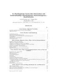 dtv 5528 Hamburgisches Naturschutzgesetz