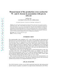 Measurement of the production cross section for W-and Z-bosons in ...