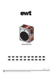 Bedienungsanleitung Clima 901 TLS - EWT