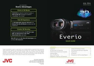 Everio Advantages GS-TD1 - QVC.com