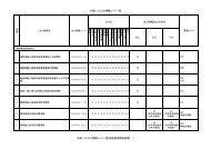 付表6-10 出力情報コード一覧 INQ EXZ EXC 業務コード 出力情報の ...