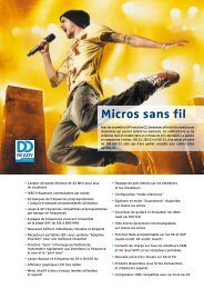 Micros sans fil - Sennheiser
