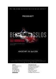 PRESSEHEFT - MFA Film