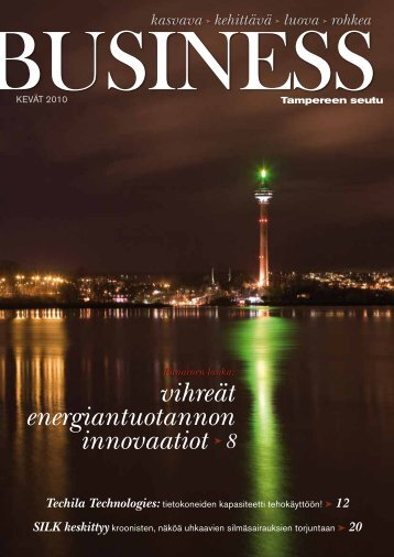 Tampere Business -lehti, kevät 2010 - Tredea Oy on Tampereen ...